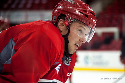 Brendan Woods. July 24, 2014. Carolina Hurricanes Prospect Development Camp, PNC Arena, Raleigh, NC. Coyright © 2014 Jamie Kellner. All Rights Reserved.