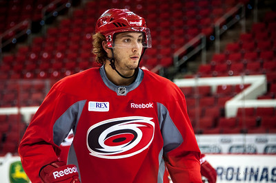 Phil Di Giuseppe. July 24, 2014. Carolina Hurricanes Prospect Development Camp, PNC Arena, Raleigh, NC. Coyright © 2014 Jamie Kellner. All Rights Reserved.