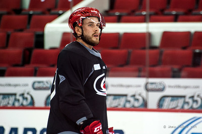 Michael Chiasson. July 24, 2014. Carolina Hurricanes Prospect Development Camp, PNC Arena, Raleigh, NC. Coyright © 2014 Jamie Kellner. All Rights Reserved.