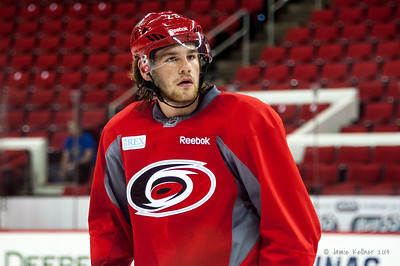Ryan Chiasson. July 24, 2014. Carolina Hurricanes Prospect Development Camp, PNC Arena, Raleigh, NC. Coyright © 2014 Jamie Kellner. All Rights Reserved.