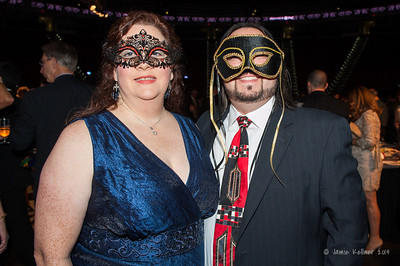 Ben and Cynthia. February 1, 2014. Carolina Hurricanes Casino Night and Wine Tasting, benefitting the Kids 'N Community Foundation, PNC Arena, Raleigh, NC.  Copyright © 2014 Jamie Kellner. All Rights Reserved.